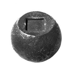 Μπίλια Φ 40ΜΜ με τρύπα πέρα ως πέρα, υποδοχή 14Χ14ΜΜ