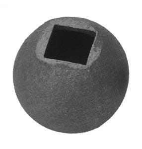 Μπίλια Φ 40ΜΜ με τρύπα πέρα ως πέρα, υποδοχή Φ16ΜΜ