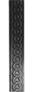 Λάμα με σχέδιο μαίανδρος 40Χ8ΜΜ