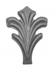 μαργαρίτα από λαμαρίνα 2ΜΜ διαστάσεων 143Χ130ΜΜ