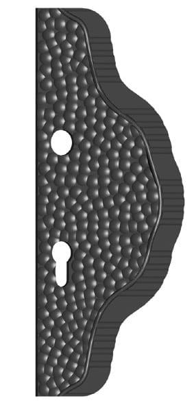 χερούλι παραδοσιακό από σίδηρο